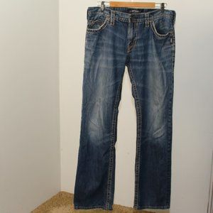 Silver Nash Heritage Jeans W34/L34 G557